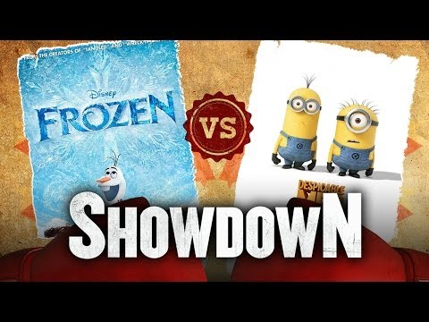 Frozen Vs. Despicable Me 2 - Which Animation Movie Is Better? Showdown HD - Smashpipe Film