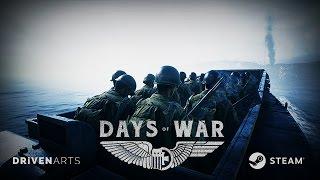 Days of War - Korai Hozzáférés Trailer: Omaha Beach