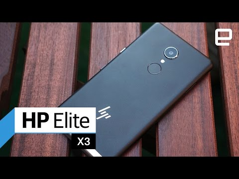 HP Elite X3: Hands-On