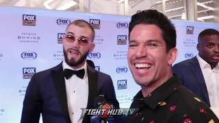 """CALEB PLANT """"BENAVIDEZ'S BEEN HANDING THEMSELVES ALOT OF L'S LATELY. DONT NEED TO HAND THEM ANYMORE"""""""