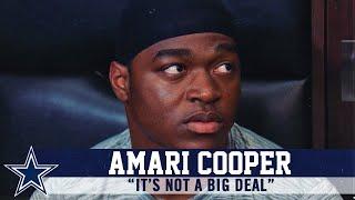 Amari Cooper Provides Update On Foot Injury   Dallas Cowboys 2019