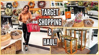 TARGET SHOP WITH ME & HAUL! FALL OCTOBER 2019!