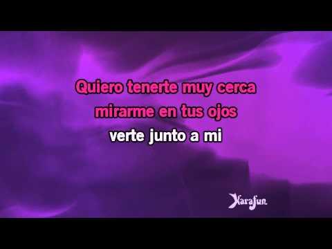 Karaoké Besame mucho - Cesária Évora *
