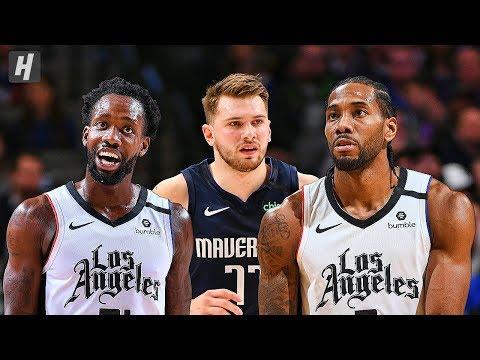 Los Angeles Clippers vs Dallas Mavericks - Full Highlights | January 21, 2020 | 2019-20 NBA Season