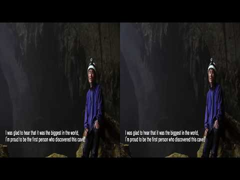 [Korea3DShowcase2013] The Cave of World Heritage Sites 3D by Artizan
