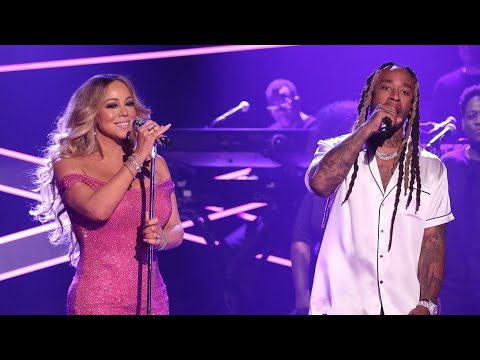Mariah Carey ft. Ty Dolla $ - The Distance Live at Late Night Show with Jimmy Fallon