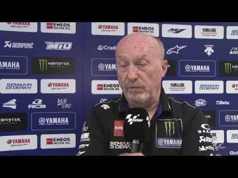 Monster Energy Yamaha on the HJC Helmets Motorrad Grand Prix Deutschland