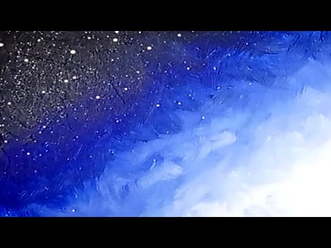 How to Paint a Night & Day Sky - Acrylic Painting Tutorial for Beginners