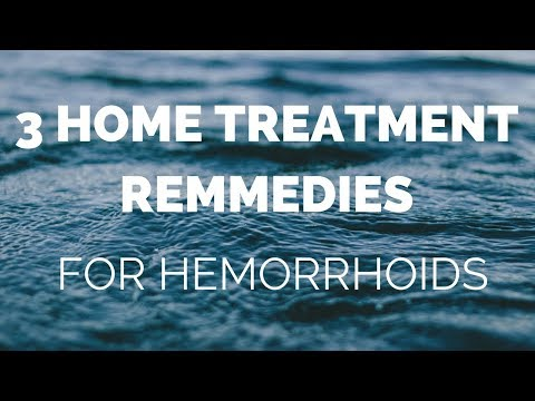 Get rid of hemorrhoids with these 3 Home Remedies