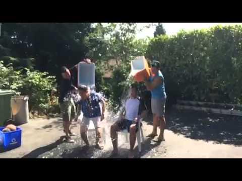 ALS Ice Bucket Challenge - Arnold Leung, CEO
