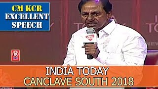 CM KCR's Excellent Answers to Rajdeep Sardesai @ India Tod..