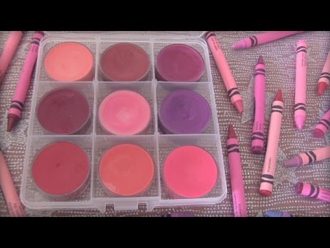 DIY Crayon Lipstick // Lip Gloss - SoCraftastic