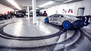 DRIFTING MY SUPERCHARGED LAMBORGHINI INSIDE ALEX CHOI'S GARAGE *JAKE PAUL CAMEO*