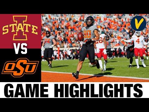 #17 Iowa State vs #6 Oklahoma State Highlights | Week 8 2020 College Football Highlights
