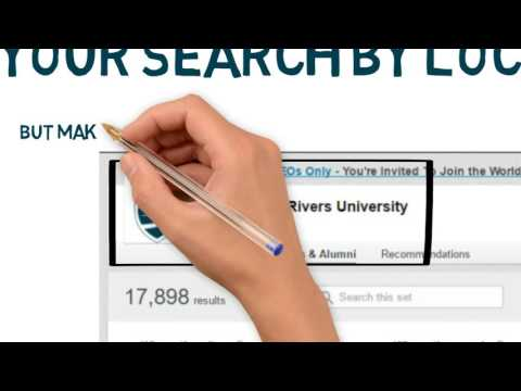 Search for Alumni through LinkedIn