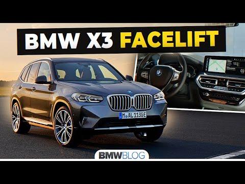 2021 BMW X3 Facelift