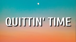 Morgan wallen - Quittin' Time (Lyrics)