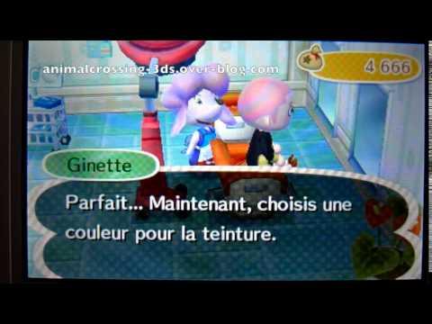 Ginette la couleur des cheveux animal crossing new leaf - Coupe animal crossing new leaf ...