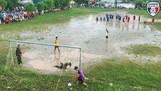 Bình luận Fun | Chết cười với loạt Penalty trên sân lầy lội tại quê Sơn Tùng Mtp