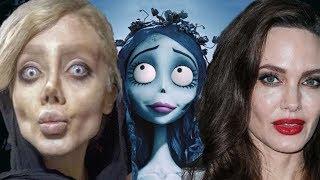 SHOCKING- IRANIAN MODEL Sahar Tabar-surgeries to look like Angelina Jolie