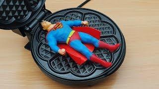 EXPERIMENT WAFFLE IRON vs Stretch Superman