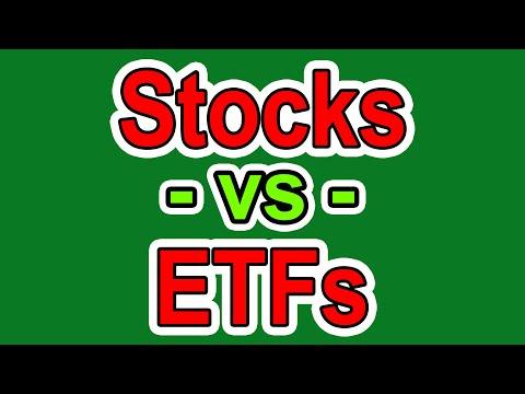 Stocks VS ETFs - What's a Better Investment - Investing for Beginners