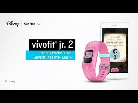 Garmin vívofit jr. 2 Disney Princess App Adventures with Mulan
