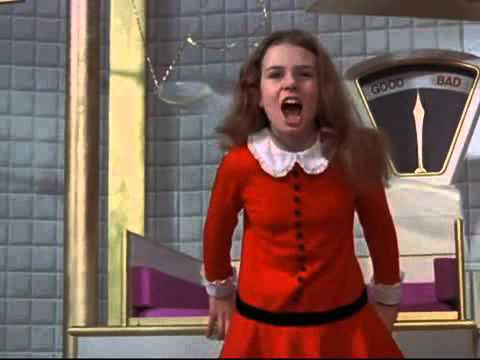 Veruca Salt: I Want It Now!  (Willie Wonka & the Chocolate Factory) 1971