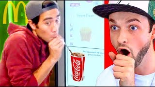 Reacting to the BEST MAGIC TRICKS on YouTube!