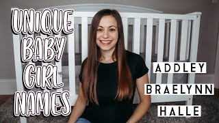 15 Unique Baby Girl Names I Might Be Using 2020
