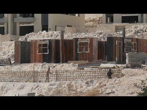 Több mint háromezer új telepeslakás építésére adott engedélyt Izrael Ciszjordániában