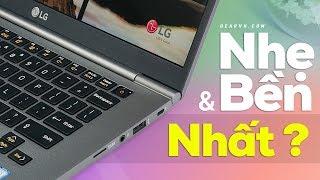 Laptop mỏng nhẹ và bền nhất thế giới?   GEARVN