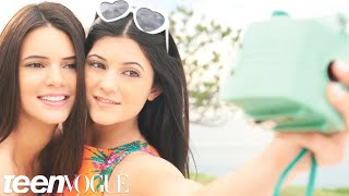 Interview with Teen Vogue March 2012 cover stars Kendall and Kylie Jenner