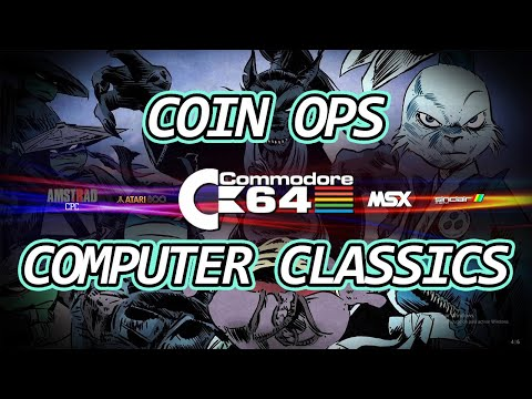 CoinOPS Computer Classics Version 7.1    Novedades