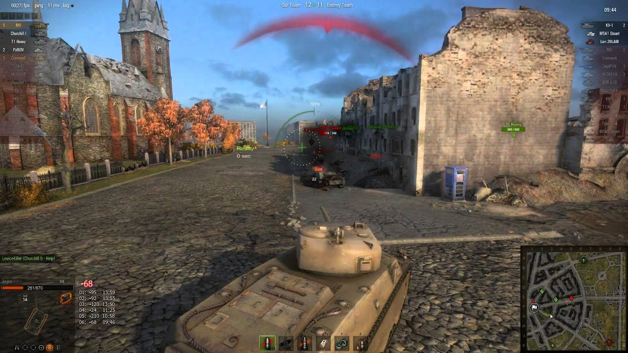 world of tanks m6 matchmaking