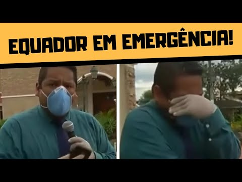 EQUADOR EM EMERGÊNCIA!!!