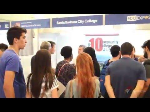 Eduexpo São Paulo 2016 - Santa Barbara City College - SBCC