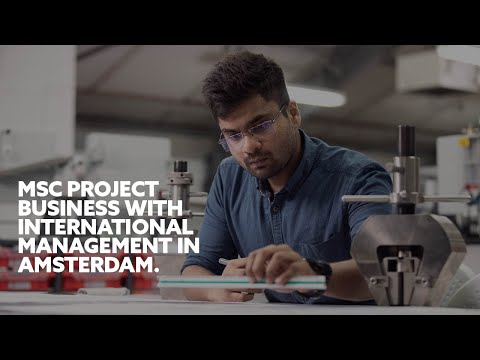 Project Management (MSc) | Northumbria University, Amsterdam