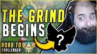 SEASON 8 CHALLENGER GRIND BEGINS! FIRST GAME OF RANKED SEASON 8 Road To Challenger League of Legends