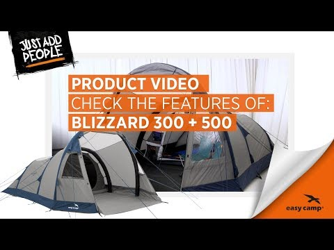 video Easy Camp Blizzard 300