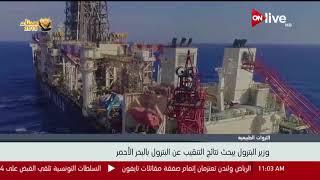 وزير البترول يبحث نتائج التنقيب عن البترول بالبحر الأحمر ...