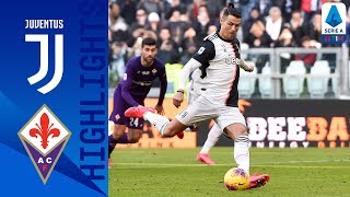 Juventus 3-0 Fiorentina | CR7 Scores Brace From The Penalty Spot | Serie A
