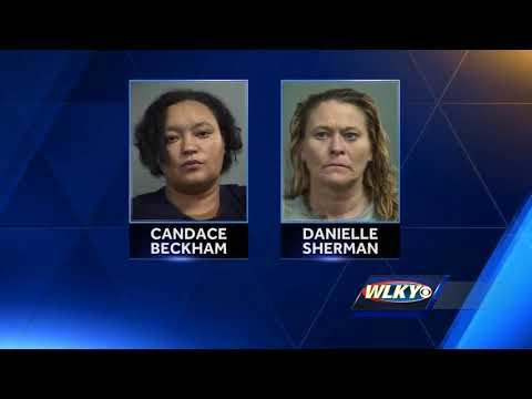 Two women accused of burglarizing storage units