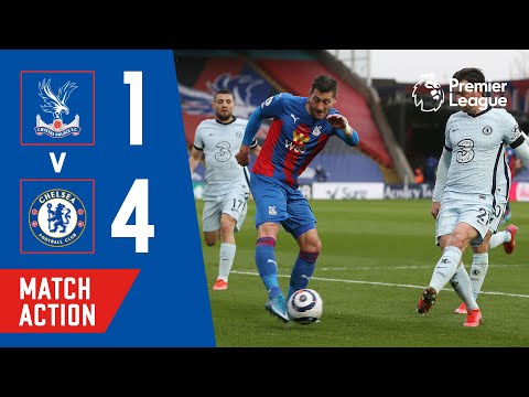 Crystal Palace 1-4 Chelsea   Match Action