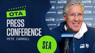 Pete Carroll 2021 Seahawks OTAs Press Conference