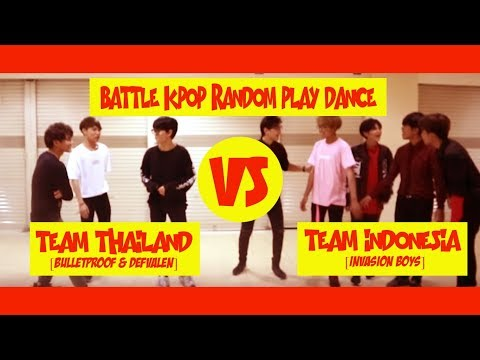 [KPOP DANCE IN PUBLIC] RANDOM PLAY DANCE INVASION BOYS WITH TEAM THAILAND [BULLETPROOF AND DEFVALEN]
