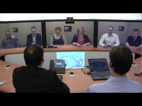 Gen-i Solutions uses Cisco TelePresence