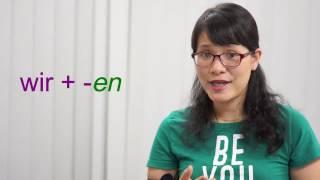 Học tiếng Đức cùng cô Thùy Dương-Bài 2: Đại từ nhân xưng và chia động từ tiếng Đức