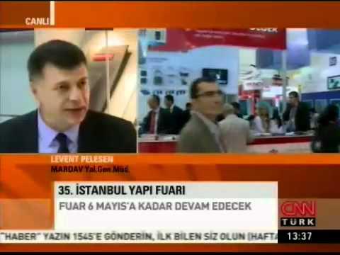 Genel Müdürümüz Levent Pelesen, CNNTURK/Yapı Fuarı Özel yayın konuğu