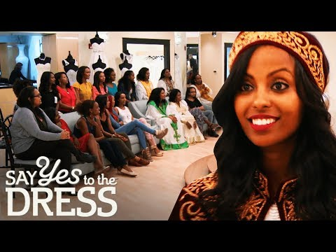 Bride Brings a 20 Person Entourage to Her Appointment!   Say Yes To The Dress Atlanta